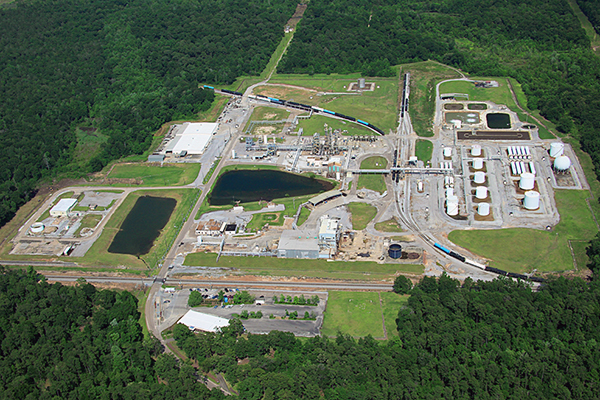 Aerial view - Mobile Alabama plant