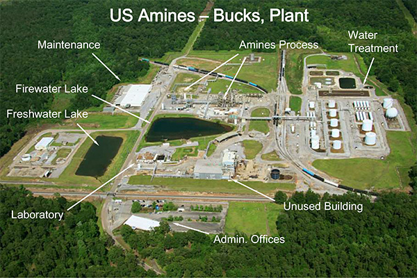 Mobile Alabama Plant Layout